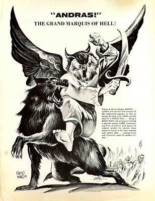 Andras Baal Berith Demon